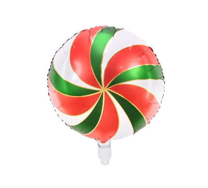 Folieballong Candy mix färger, 35 cm