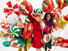 Folieballong Candy Grön, 35 cm