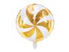 Folieballong Candy Guld, 35 cm