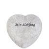 Gravdekoration Hjärta Min älskling