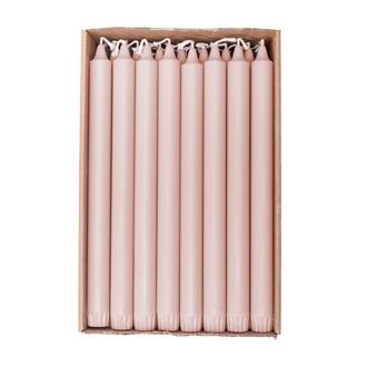 Kronljus Powder Pink 28 cm, 4-pack