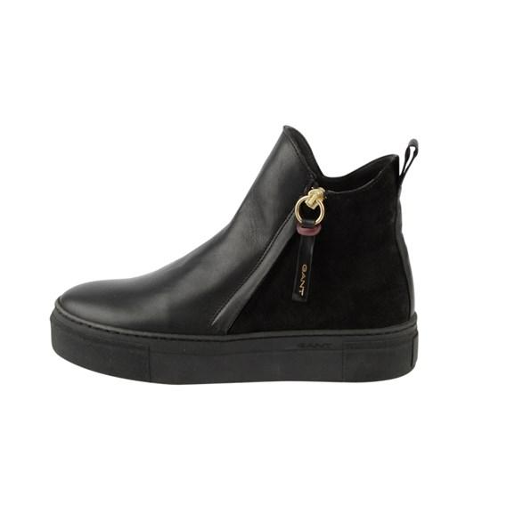 Sko Marie Mid zip  Black