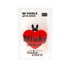 Blinky LED Heart Red