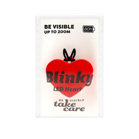 Blinky LED Heart Red