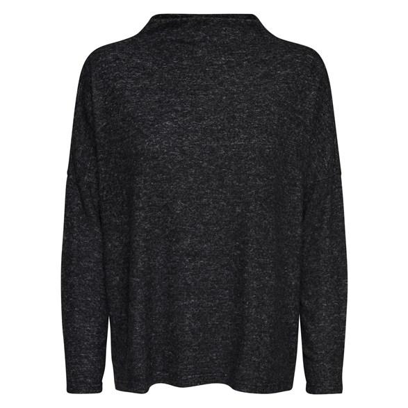 Tröja Kleo knit  Dk grey melange