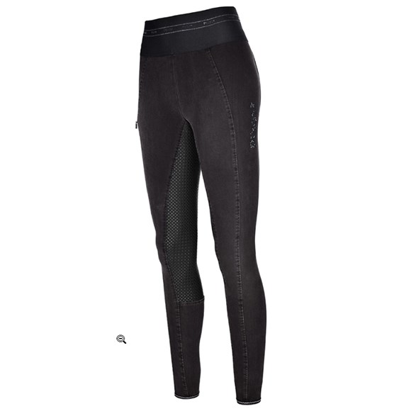 Ridbyxa Ivana grip jeans athle.  Black