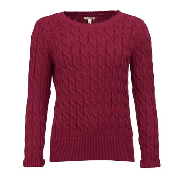 Tröja Lewes knit  Deep pink