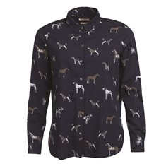 Blus Stirling  Navy dog print
