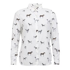 Blus Stirling  Cloud dog print