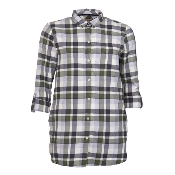 Blus Lewes  Green/grey check