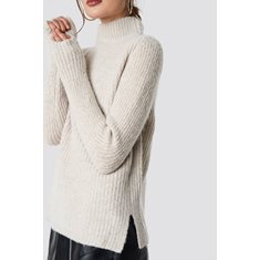 Tröja Marielle knit  Beige melange