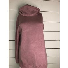 Tröja Ines big rollneck  Old Pink