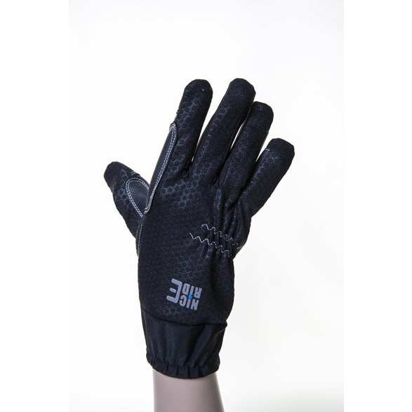Handske Nice Ride mesh/PU  Svart