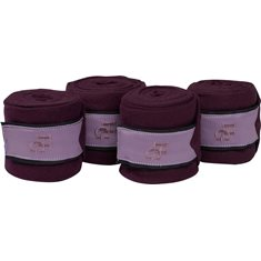 Fleecebandage Carli 3,7m Purple grape