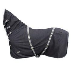Fleecetäcke m hals Catago  svart