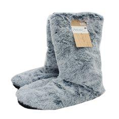 Toffel Fur look Warm 35-38 Navy