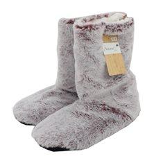 Toffel Fur look Warm 35-38 Purple