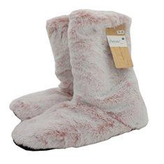 Toffel Fur look Warm 35-38 Rose