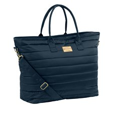 Väska Glossy shopper Oxfordnavy