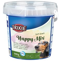 Hundgodis Soft Happy mix 500gr