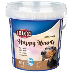 Hundgodis Soft Happy Hearts 500gr