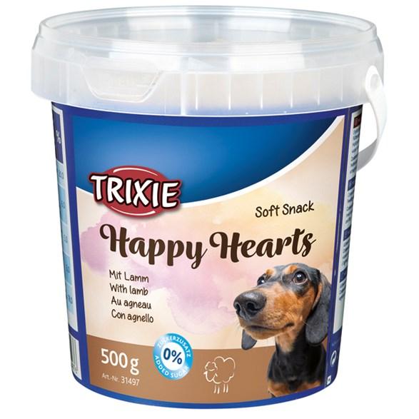 Hundgodis Soft Happy Hearts 500gr