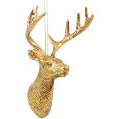 Hängdecoration Hjorten Daisy guld