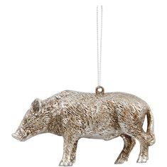 Hängdecoration vildsvinet Boris silver