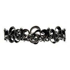 Armband snirkligt svart