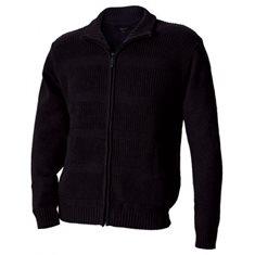 Cardigan stickad  svart