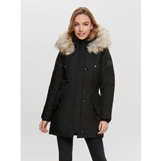 Parka Iris fur  Black