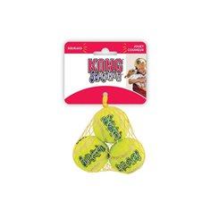 Hundleksak Kong boll 4cm 3-p