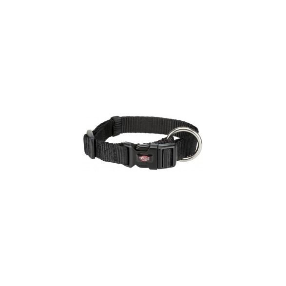 Hundhalsband Nylon svart