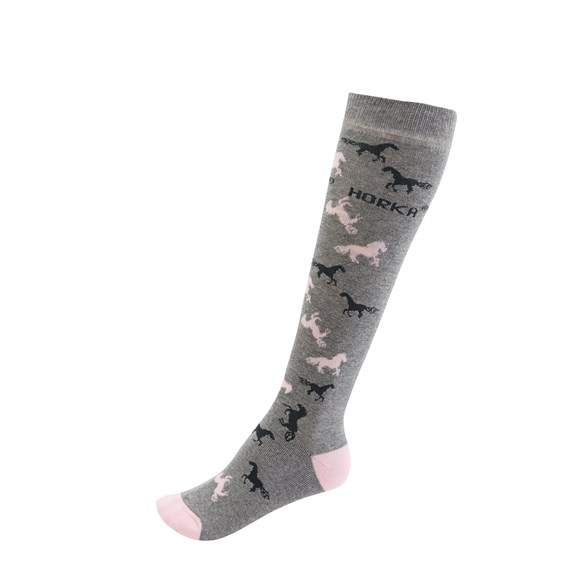 Ridstrumpa  grey/pink