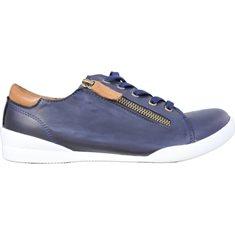 Sneaker Charlotte  Navy/brandy