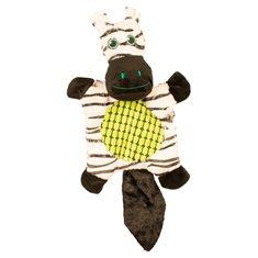 Hundleksak Prasslig Zebra 43*23*9cm svart/vit