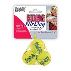 Hundleksak Kong Tennisboll squeaker 3-p