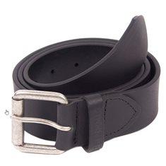 Bälte Matt läder black