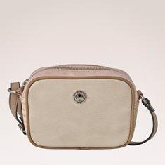 Väska två dragkedjor Rosa