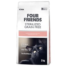 Four Friends Sterilized Cat