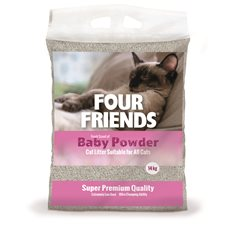 FourFriends Kattsand Baby powder