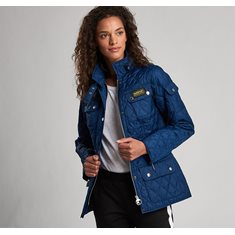 Jacka International Quilt  navy