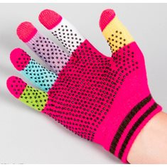 Handske Magic Gloves Jr Touch rosa