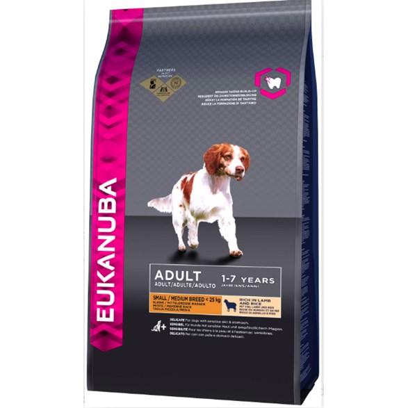 Euk Dog Ad Sm/Med Lamb & Rice