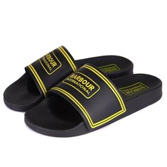 Sandal Int.Pool slider Black/yellow