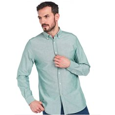 Skjorta Oxford  Green
