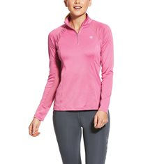 Top Sunstopper 2.0 Qzip  Pink Heather