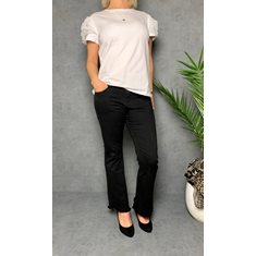 Jeans Flare svart