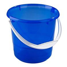 Foderhink transp. blå 5 lit