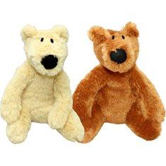 Hundleksak Fluffy Bears 28cm